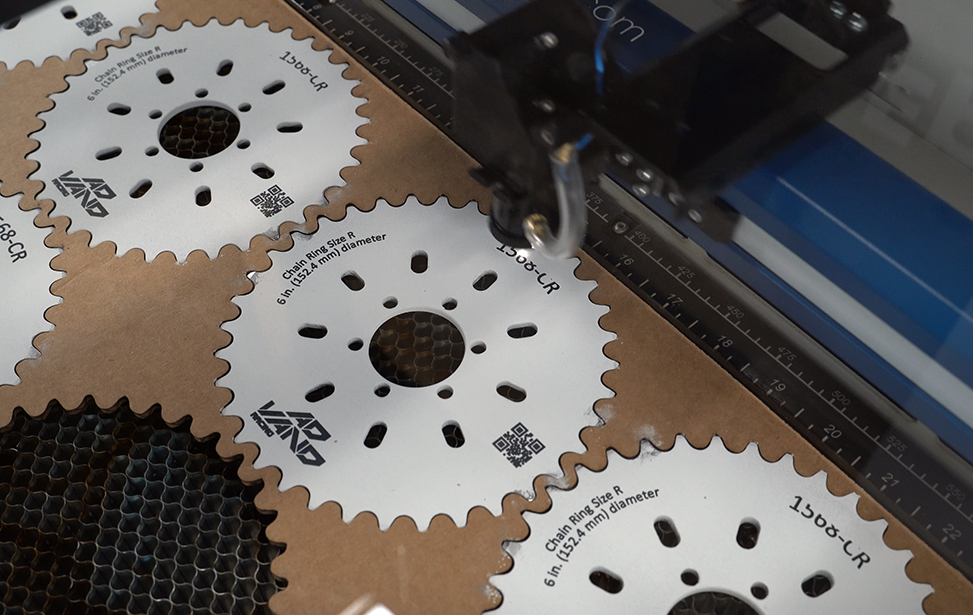Laser It Challenge #4: IRIS Camera - Bike Gear Jig Template